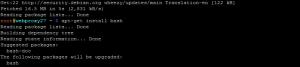 Standard-Bash unter Linux