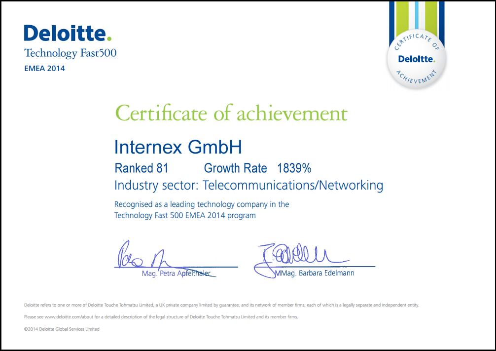 Deloitte-Certificate